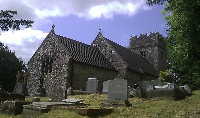 llanilid church outside